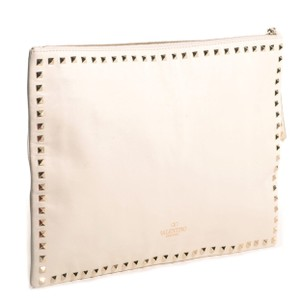 Valentino White Clutch