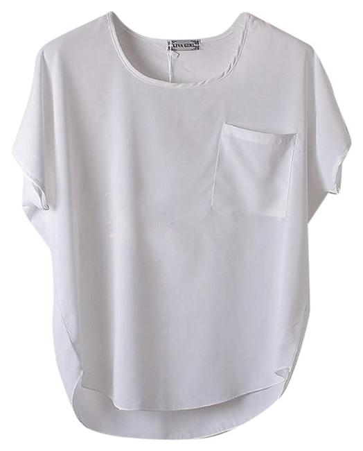 Preload https://img-static.tradesy.com/item/2099666/white-chiffon-pocket-sheer-short-sleeve-t-shirt-royal-blouse-size-4-s-0-5-650-650.jpg