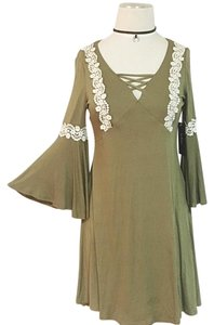 Other short dress olive on Tradesy