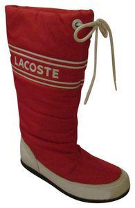 Lacoste Snow Winter Urban Cool Red Boots