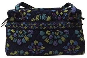Vera Bradley Tote in Blue, Purple,Green