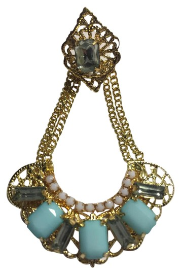 Preload https://img-static.tradesy.com/item/2099675/bluegold-plated-dangle-swing-earrings-0-4-540-540.jpg