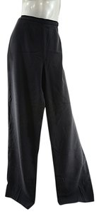 Max Mara Trousers Wide Leg Pants Black