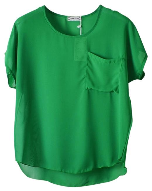 Other Top Emerald Kelly Green Image 0
