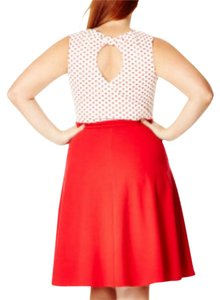 City Chic short dress Red and white on Tradesy
