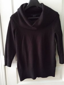 French Connection Scoop Neck Fitted Turtleneck Sweater
