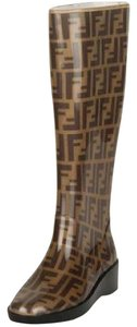 Fendi #fendi #rainboots Brown Boots