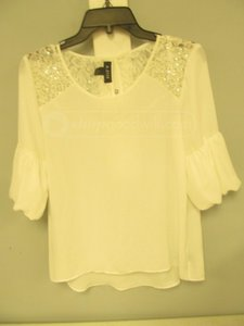 A. Byer Top white