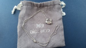 Alex Woo Crab necklace with pouch