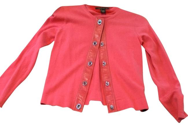 Preload https://item4.tradesy.com/images/coach-peachcoral-cardigan-size-4-s-2099753-0-0.jpg?width=400&height=650