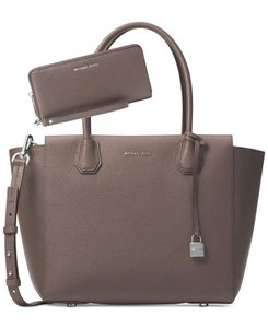 Michael Kors Satchel in Cinder/Silver