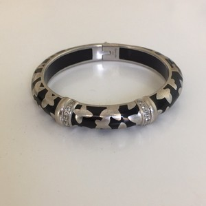 Angelique de Paris Farfalle sterling silver resin bracelet
