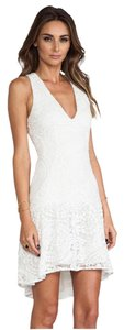 Hunter Bell short dress White on Tradesy