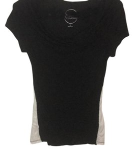 Macy's T Shirt Black and White