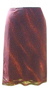 Forever 21 Nice Skirt Glitter Brown