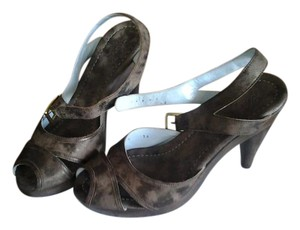 Tracy Reese Brown/Bronze Sandals