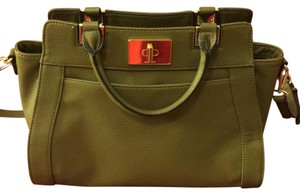 Nine West Satchel in hunter green
