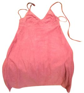 Coach short dress Pink on Tradesy