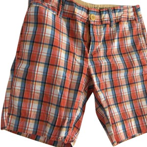 G 1 Basic Goods Bermuda Shorts orange/blue
