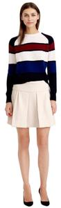 J.Crew Mini Skirt cream