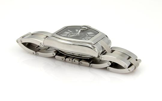 Cartier 15464 - Roadster Automatic Stainless Steel Men's Wrist Watch Image 4