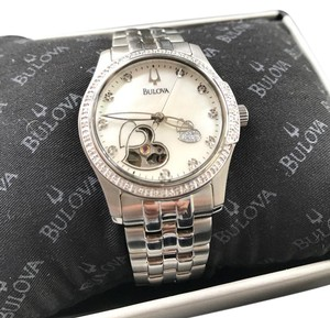 Bulova Bulova Women's 96R122 Diamond Accented Automatic Watch
