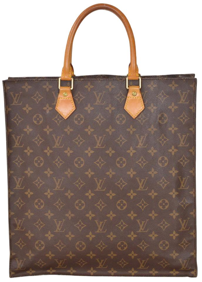 louis vuitton sac plat monogram tote bag on sale 79 off totes on sale. Black Bedroom Furniture Sets. Home Design Ideas