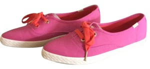 Kate Spade pink canvas Athletic