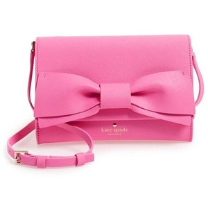Kate Spade Leather Francie Clutch Cross Body Bag