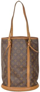 Louis Vuitton Monogram Bucket Gm Tote in Brown