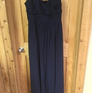 Alfred Angelo Navy Navy Full-length Formal Dress Dress