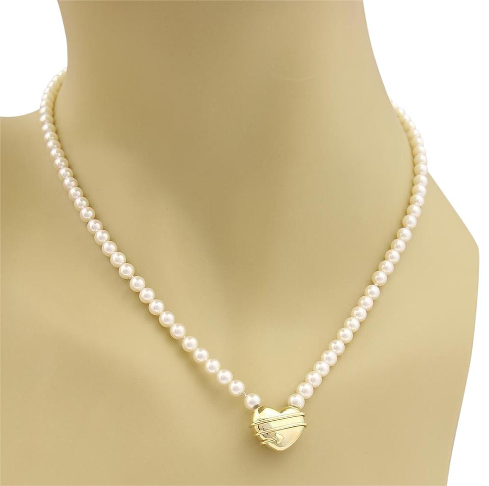 arrow heart co and i necklace tiffany pearls in pendant gold cupid