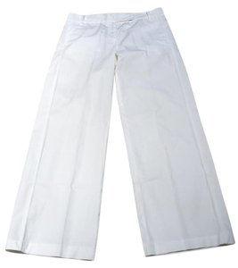 French Connection Size 8 Wide Leg Pants White