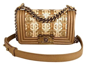 Chanel Box Dust Cover Auth. Card Cross Body Bag