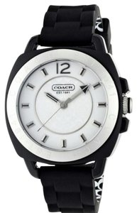 Coach Coach Women's Silicone Strap Mini Boyfriend Watch