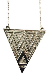 House of Harlow 1960 House of Harlow 1920 Pave Tribal Triangle Pendant Necklace