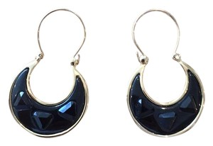 House of Harlow 1960 House of Harlow 1960 Black Resin and stone earings