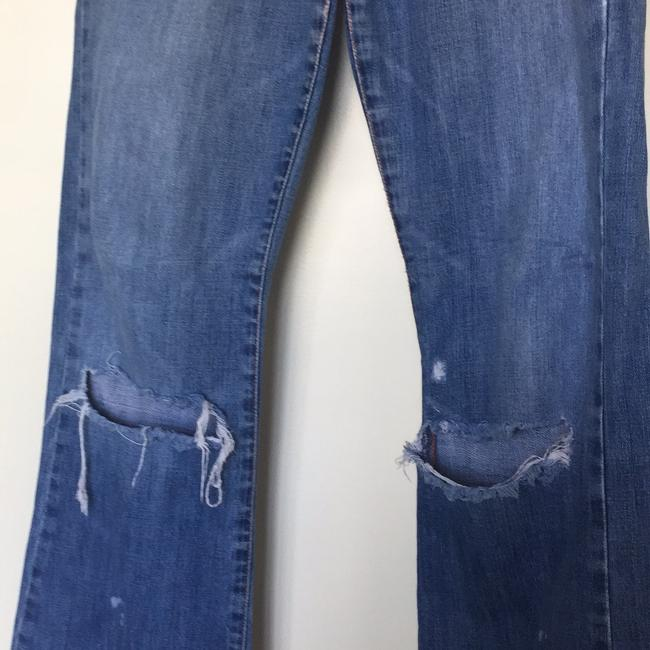Abercrombie & Fitch Boot Cut Jeans-Distressed Image 3