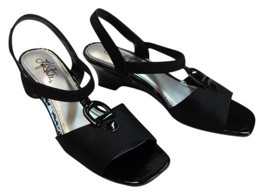 LifeStride 8m Excellent Condition BLACK Sandals