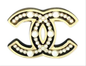 Chanel CHANEL Pearl Pin Brooch