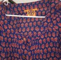 Tory Burch Top pink blue Image 2