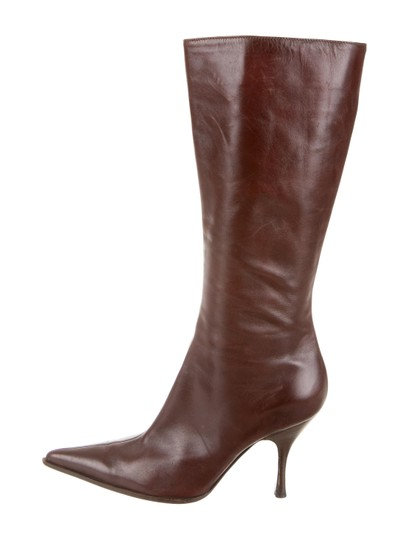 Sergio Rossi Brown Boots Image 1