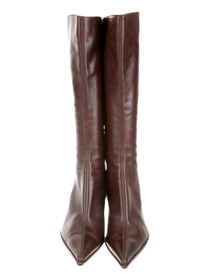 Sergio Rossi Brown Boots Image 2