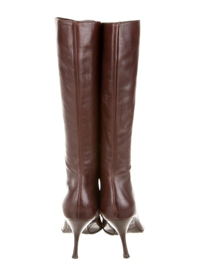 Sergio Rossi Brown Boots Image 3