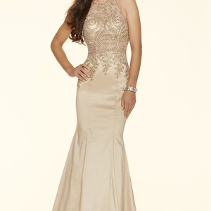 Mori Lee Champagne Gold Ml-98035 Dress