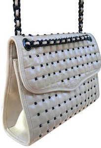 Rebecca Minkoff Quilted Cross Studded Leather Shoulder Bag