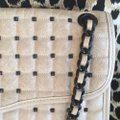 Rebecca Minkoff Quilted Cross Studded Leather Shoulder Bag Image 10