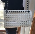 Rebecca Minkoff Quilted Cross Studded Leather Shoulder Bag Image 11