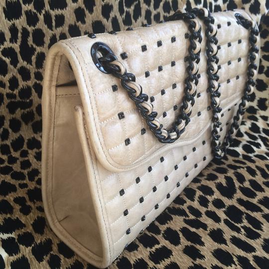 Rebecca Minkoff Quilted Cross Studded Leather Shoulder Bag Image 6
