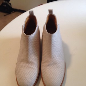 10022-Shoes cream/ivory Boots